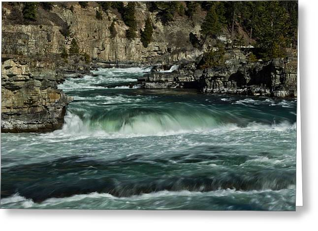 Kootenai Falls, Montana 2 Greeting Card