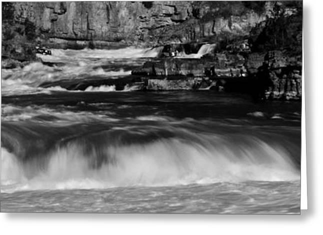 Kootenai Falls, Montana Greeting Card