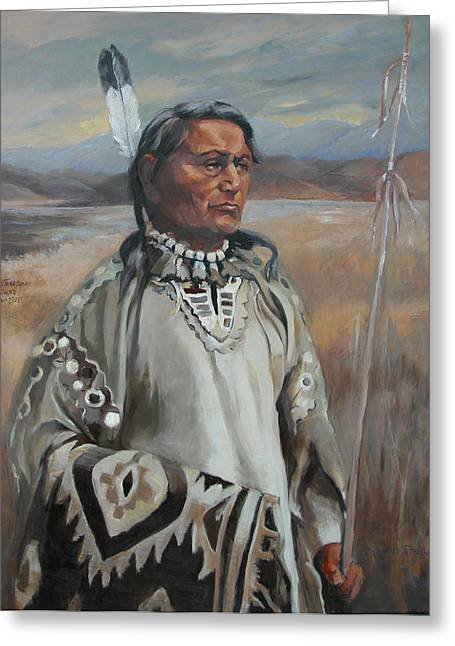 Kootenay Chief Greeting Card