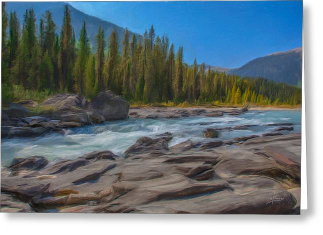 Kootenay River Greeting Card
