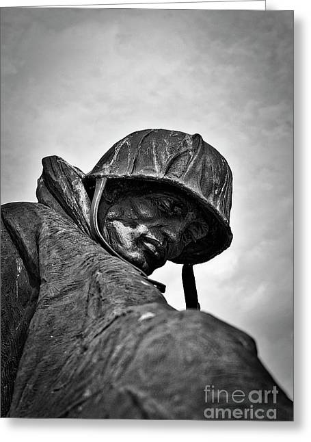 Korean Memorial Columbia, Sc Greeting Card by Skip Willits