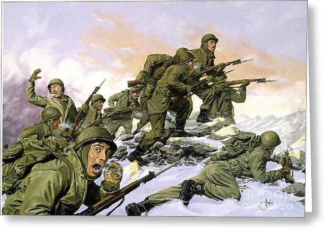 Korean War Greeting Card
