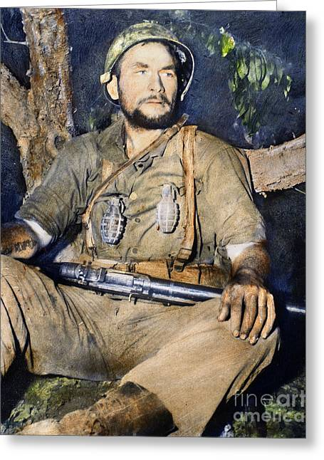 Korean War: G.i., 1950 Greeting Card by Granger