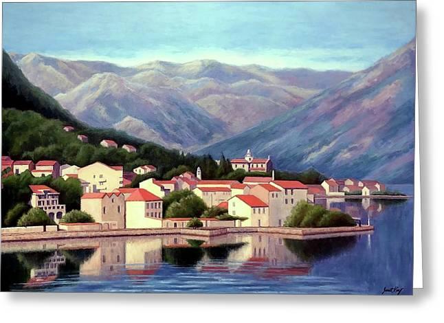 Kotor Montenegro Greeting Card