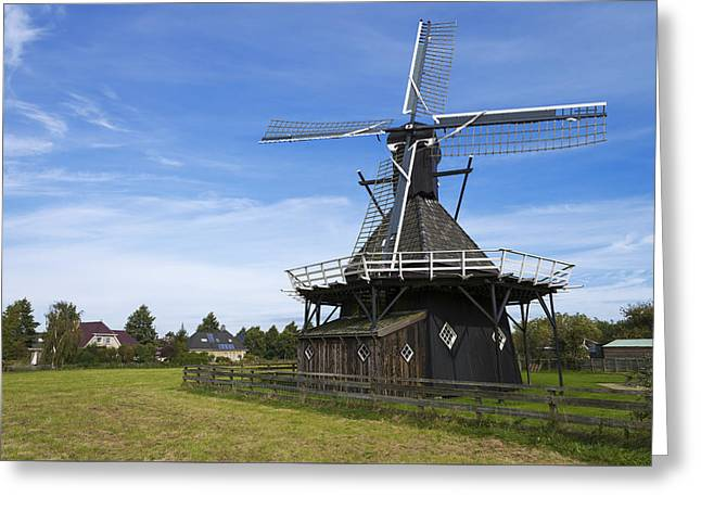 Koudum Molen Greeting Card by Chad Dutson