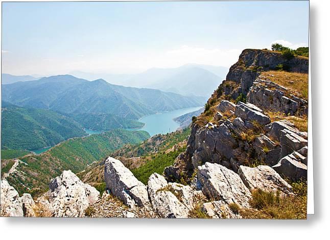 Kozjak Mountain 1 Greeting Card by Marjan Jankovic