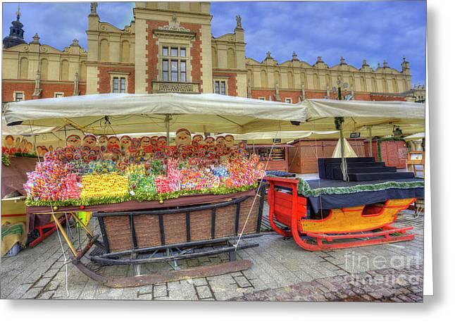 Krakow Christmas Market 2017 Greeting Card