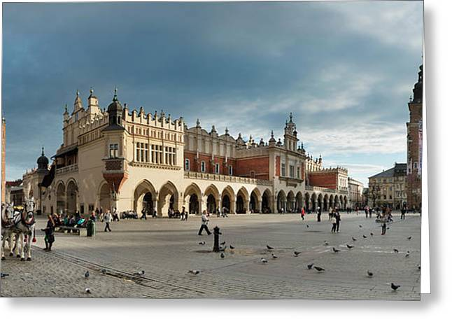 Krakow's Grand Square Greeting Card