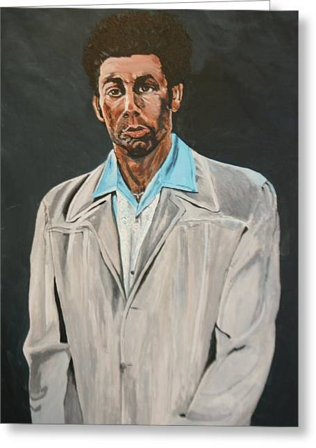 Kramer After Unknown Artist Greeting Card