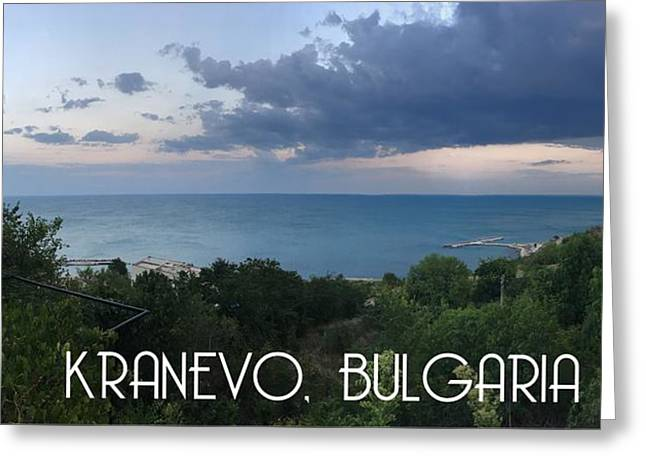 Kranevo Bulgaria Greeting Card