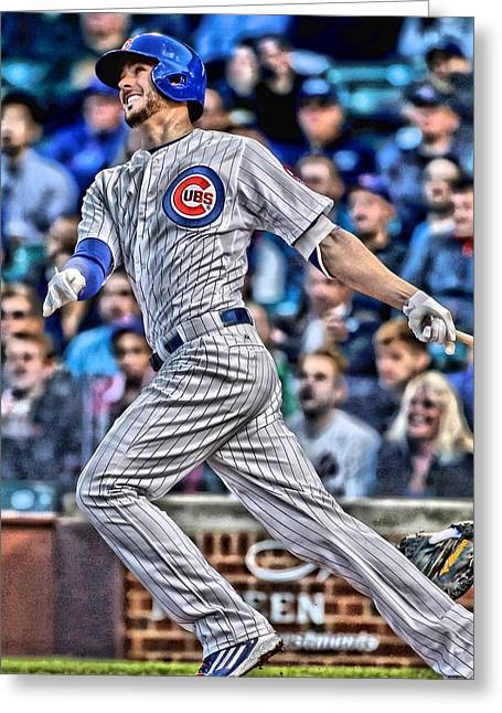 Kris Bryant Chicago Cubs Greeting Card