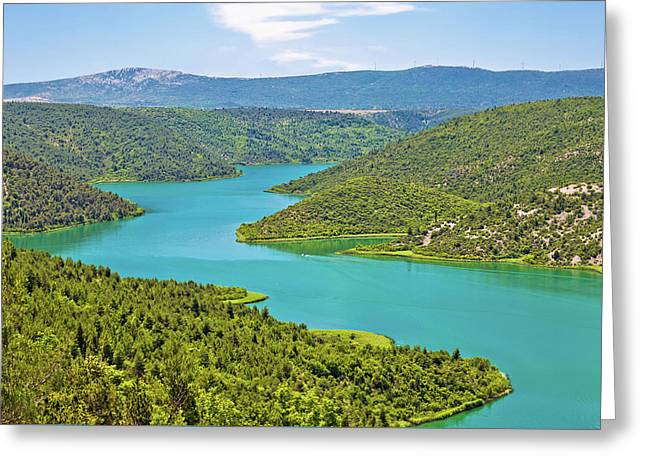 Krka River National Park View Greeting Card by Brch Photography
