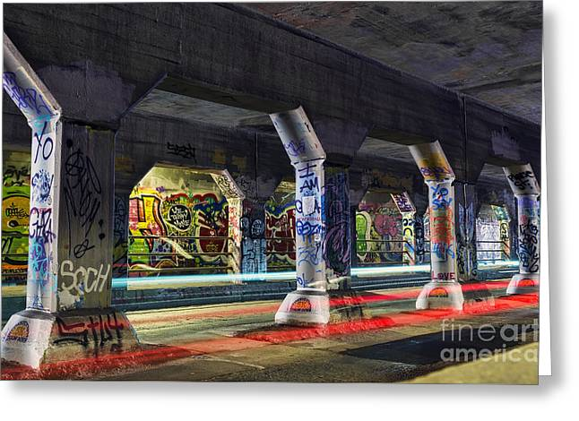 Krog Street Tunnel Greeting Card