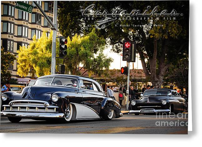 Kruisin Kustoms Greeting Card by Customikes Fun Photography and Film Aka K Mikael Wallin