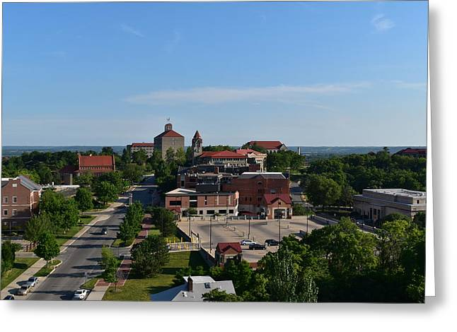 Ku View Greeting Card by Mary Beth Harrison