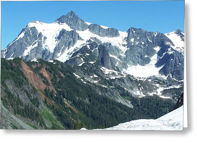 Kulshan Ridge 2 Greeting Card