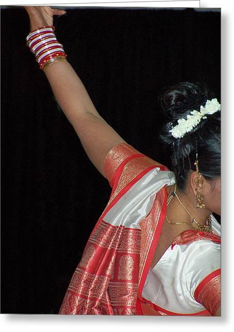 Kumari Greeting Card by Vijay Sharon Govender