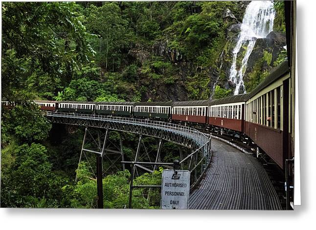 Kuranda Senic Railway Greeting Card
