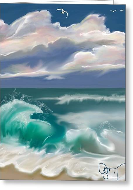 Kure Beach Greeting Card