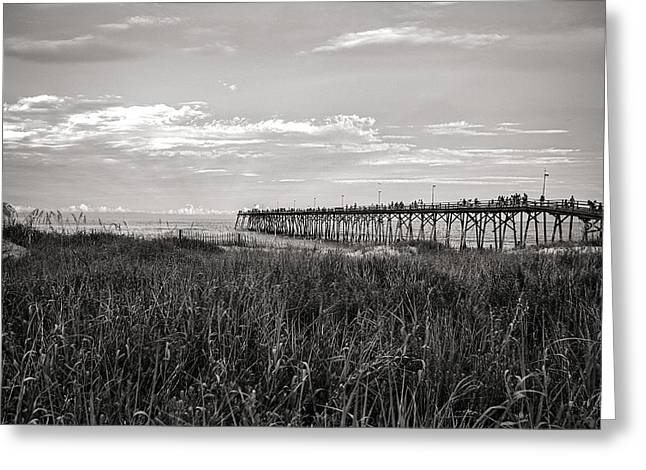 Kure Beach Pier Greeting Card