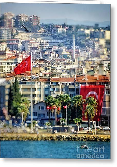 Kusadasi Greeting Card by HD Connelly