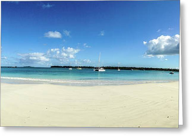 Kuto Bay Morning Pano Greeting Card