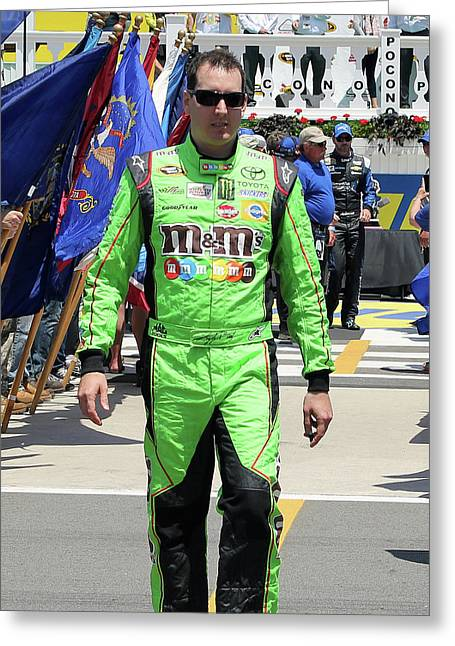 Kyle Busch Greeting Card