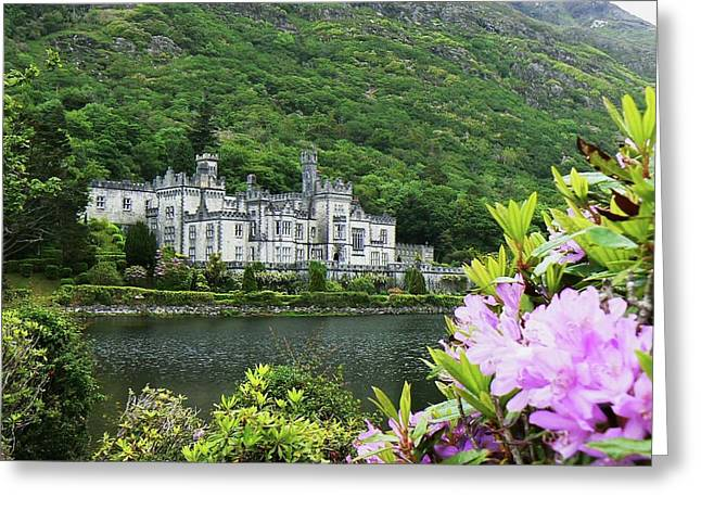 Kylemore Abbey Co Galway Greeting Card