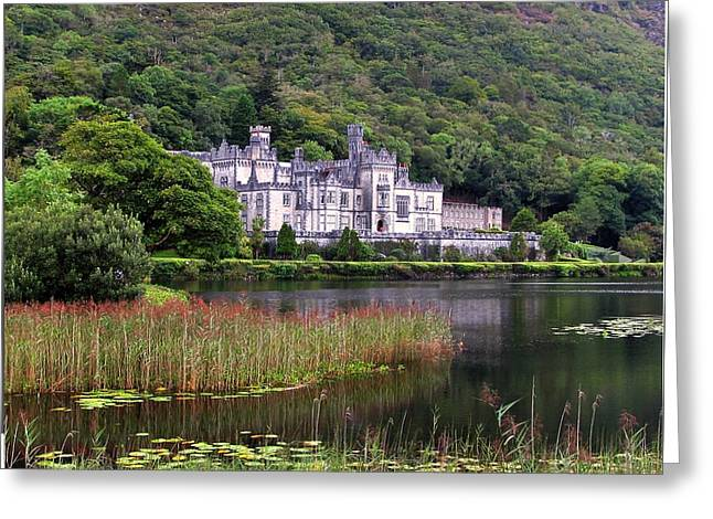 Kylemore Abbey, County Galway, Greeting Card