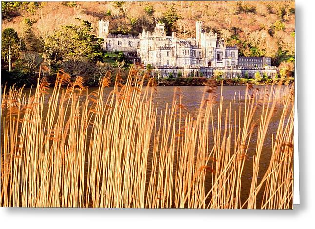 Belief Systems Greeting Cards - Kylemore Abbey, County Galway Greeting Card by Sici
