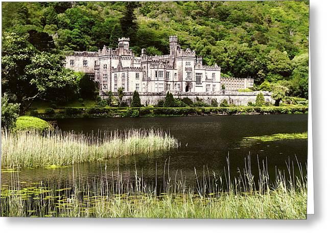 Kylemore Abbey Victorian Ireland Greeting Card