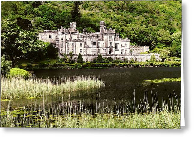 Kylemore Abbey Victorian Ireland Greeting Card
