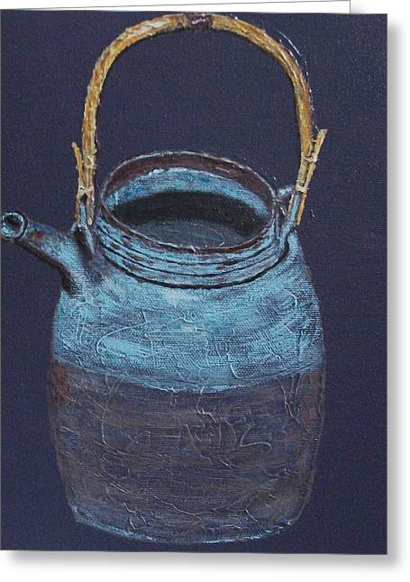 Kyusu Greeting Card by Nick Young