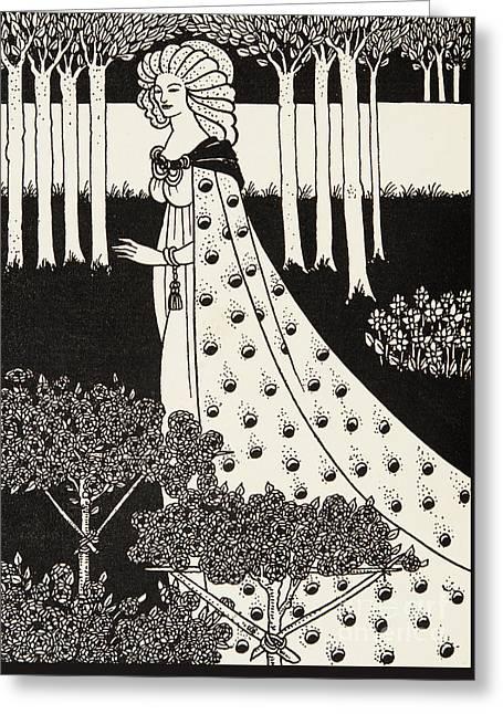 La Beale Isolde Greeting Card