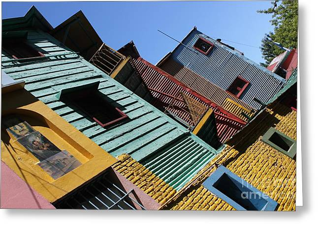 La Boca Greeting Card