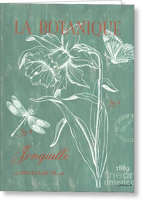 La Botanique Aqua Greeting Card