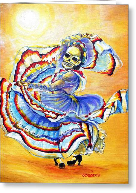La Bruja Greeting Card