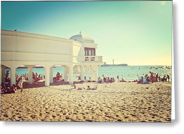 La Caleta From Die Another Day Greeting Card by Ingvild Carmen