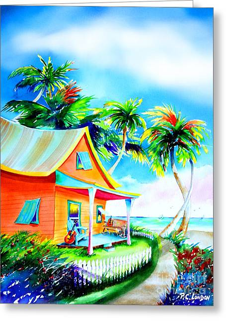 La Casa Cayo Hueso Greeting Card