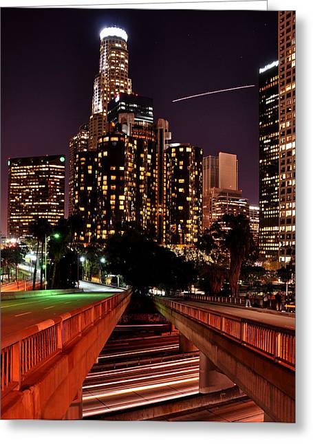 La City Lights Greeting Card