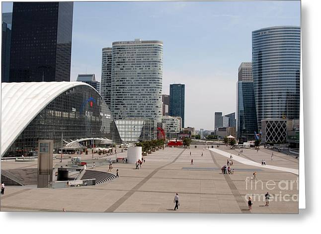 La Defense Greeting Card by Andy Smy