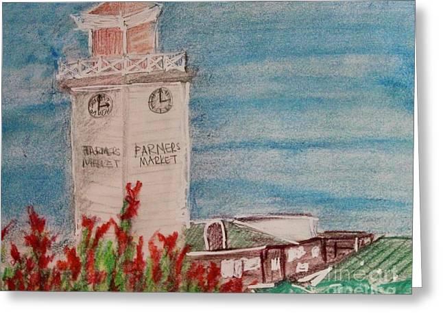 La Farmer's Market Greeting Card