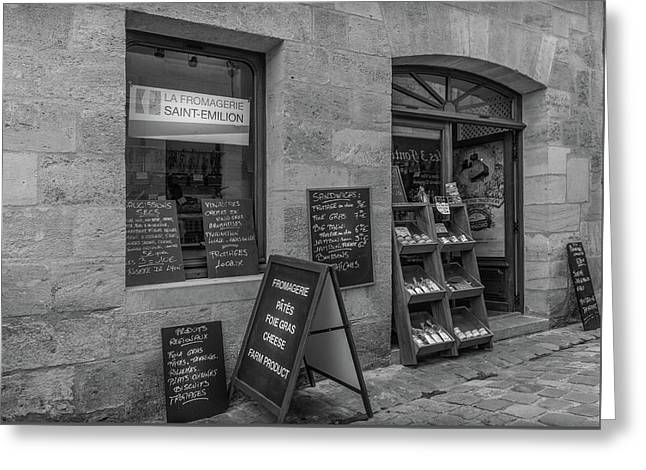 La Fromagerie - The French Cheese Shop Greeting Card