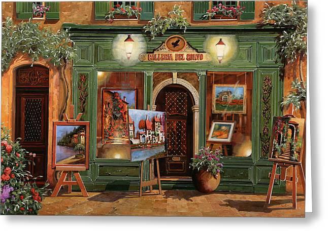 La Galleria Del Corvo Greeting Card