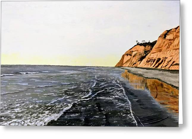 La Jolla Shoreline Greeting Card