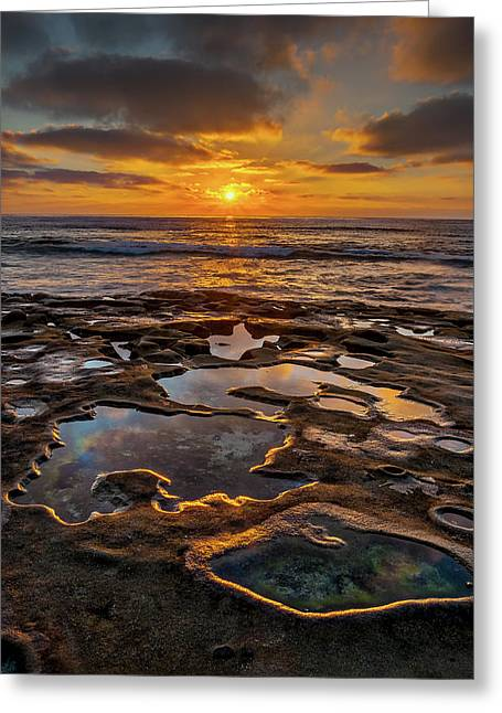 La Jolla Tidepools Greeting Card