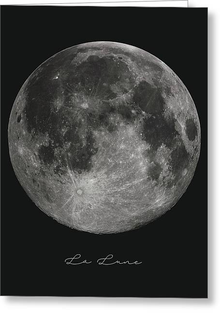 La Lune, The Moon Greeting Card