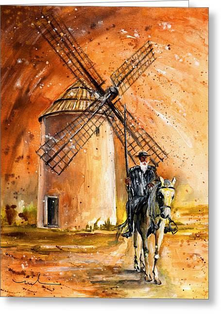 La Mancha Authentic Greeting Card