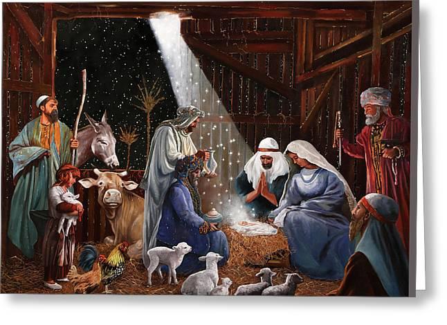 La Nativita' Greeting Card