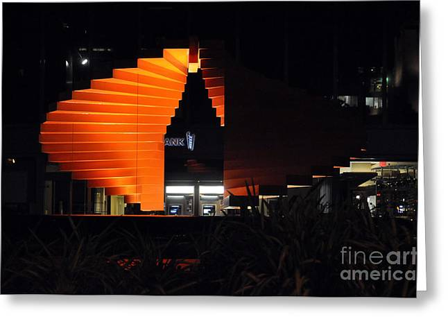 L.a. Nights Greeting Card by Clayton Bruster